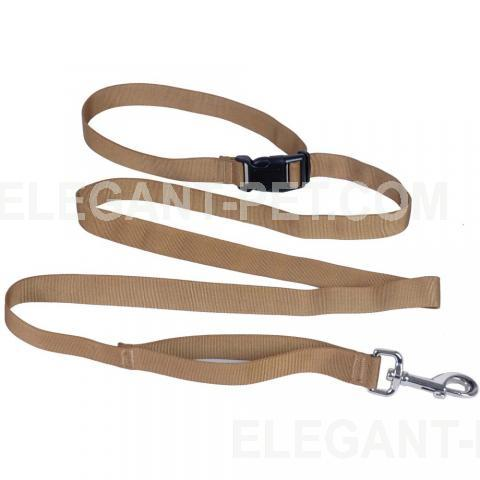 Multi-purpose flat leash