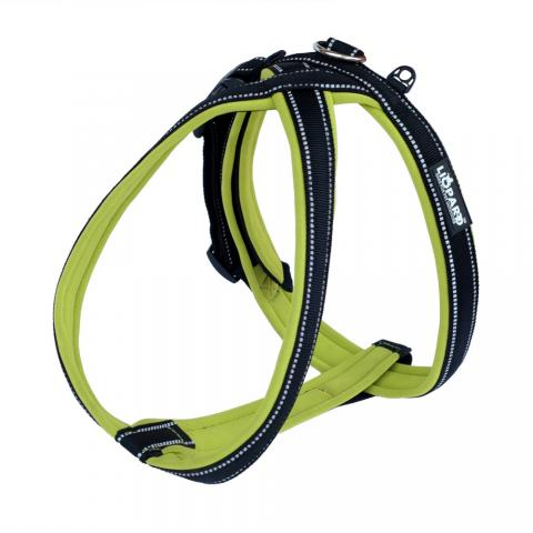 Padded reflective Y dog harness